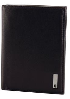 Victorinox Men's Altius 3.0 Grenoble Leather Vertical Bi-Fold Wallet with European Id Window