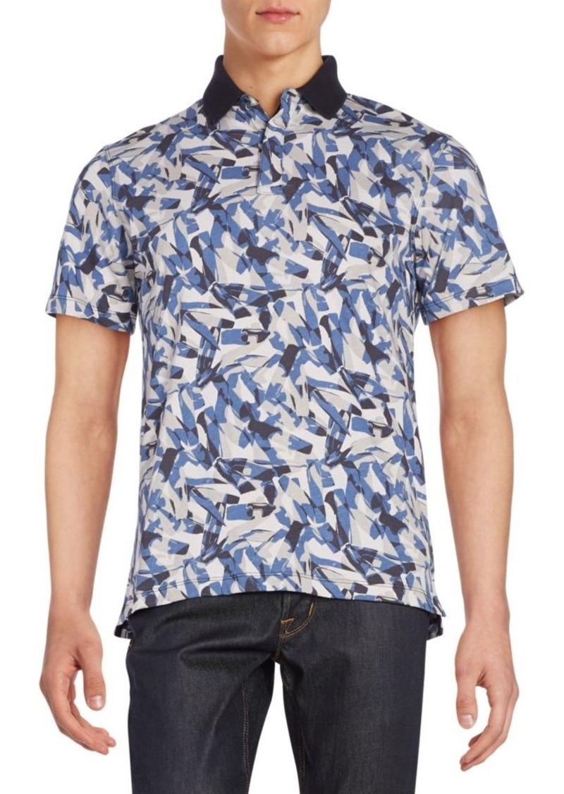 Victorinox Swiss Army Abstract-Print Polo Shirt