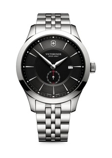Victorinox Swiss Army Alliance Sterling Silver Analog Bracelet Watch
