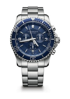 Victorinox Swiss Army Maverick Chrono Stainless Steel Watch