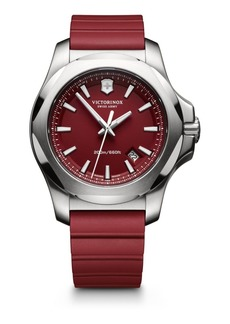 Victorinox Maverick Inox Stainless Steel & Rubber Watch