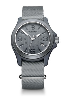Victorinox Swiss Army(R) Original Nylon Strap Watch, 40mm
