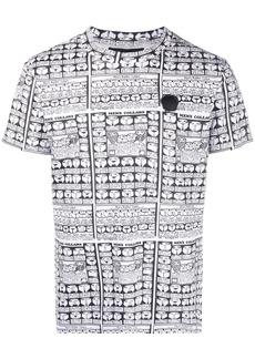 Viktor & Rolf collar print T-shirt