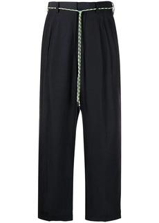 Viktor & Rolf cord-belt trousers