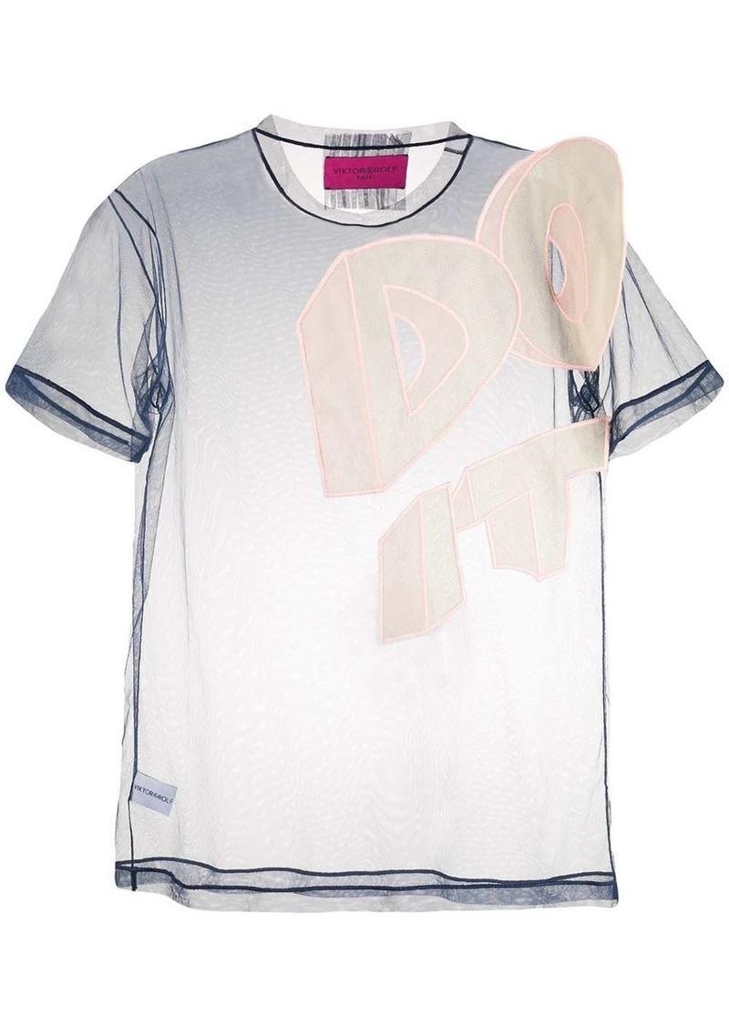 Viktor & Rolf Do It T-shirt