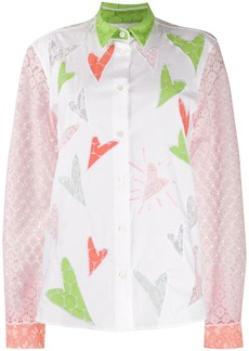 Viktor & Rolf Heart To Heart embroidered shirt