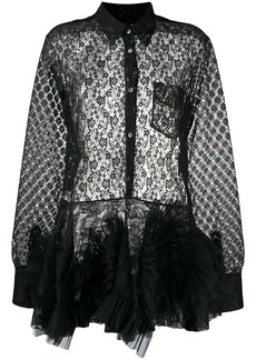 Viktor & Rolf lace swirl dress