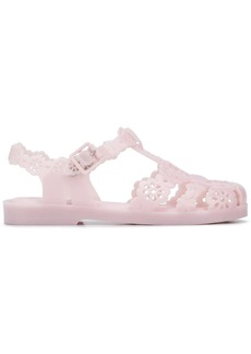 Viktor & Rolf laser-cut floral jelly sandals
