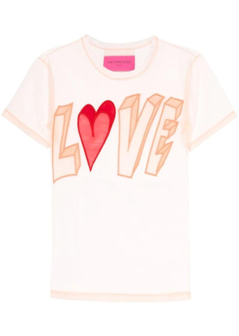 Viktor & Rolf Love tulle T-shirt
