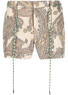 Viktor & Rolf paisley-print shorts