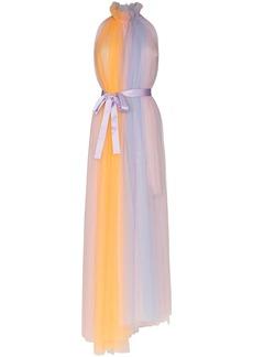 Viktor & Rolf rainbow asymmetric tulle dress