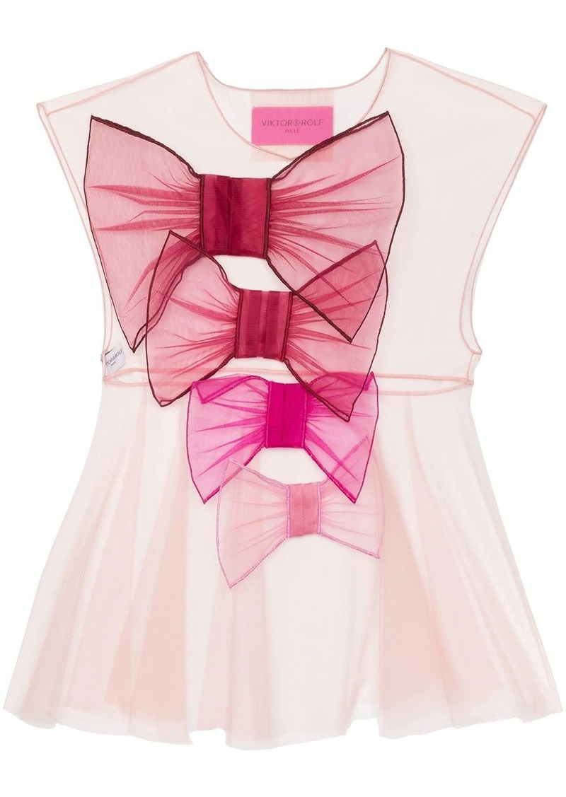 Viktor & Rolf So Many Bows tulle top