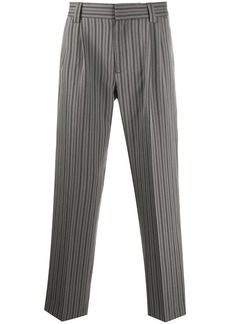 Viktor & Rolf striped cropped trousers