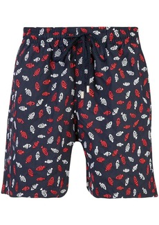 Vilebrequin fish print swim shorts