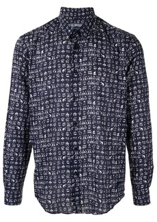 Vilebrequin graphic print shirt