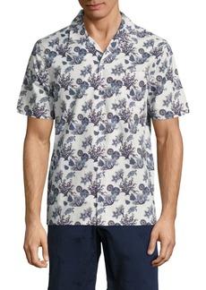 Vilebrequin Marine Printed Shirt