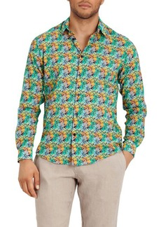 Vilebrequin Men's Jungle-Print Sport Shirt