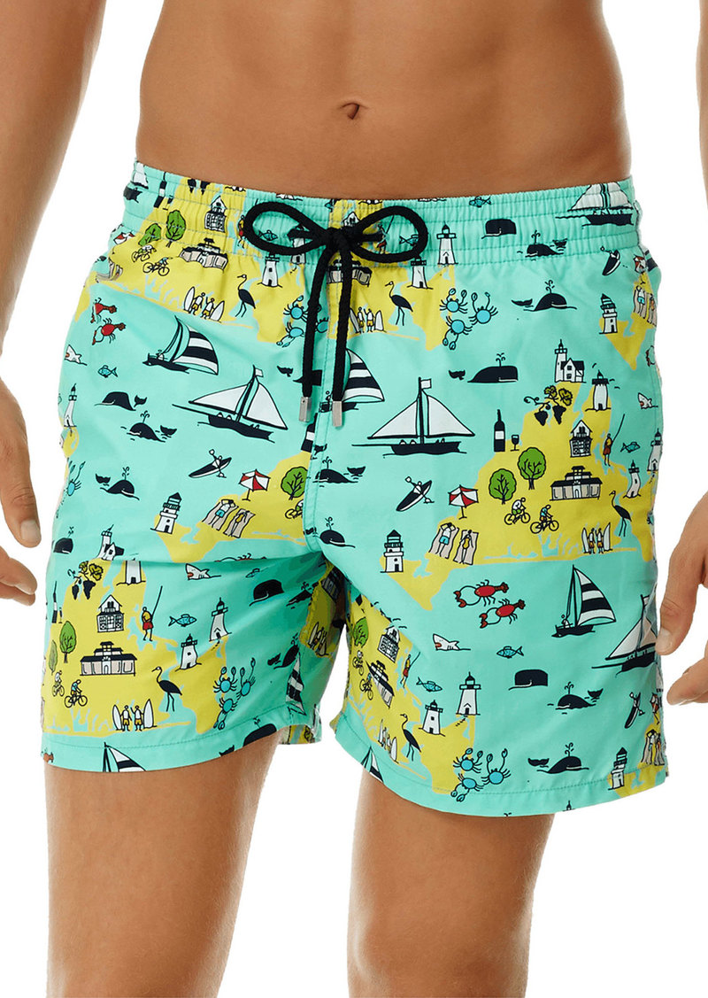 Vilebrequin Men's Moorea 12th July Martha's Vineyard Swim Trunks