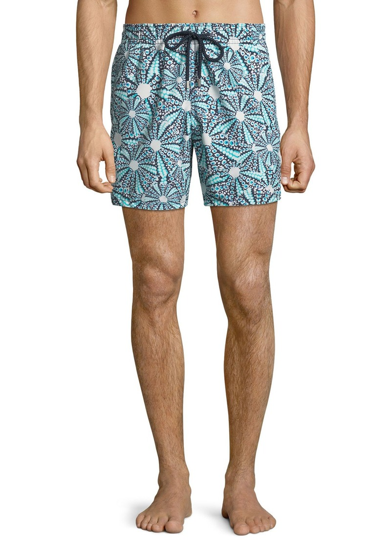 Vilebrequin Men's Moorea Graphic Print Swim Trunks