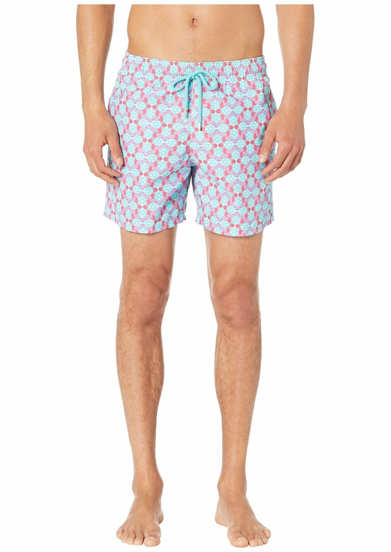Vilebrequin Moorea Data Turtles Swim Trunks