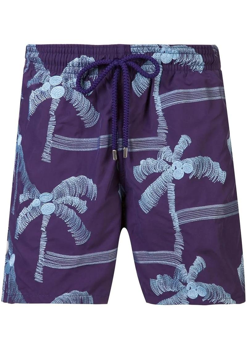 Vilebrequin palm tree swim shorts