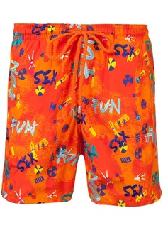 Vilebrequin printed swim shorts