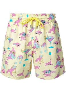 Vilebrequin printed swimming trunks