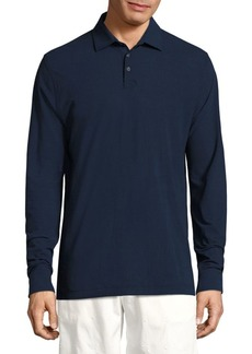 Vilebrequin Swiss Jersey Long Sleeve Polo