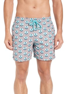 Vilebrequin Vilbrequin Anchor Embroidered Swim Trunks