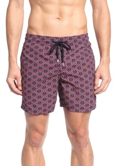 Vilebrequin Anchor Print Swim Trunks