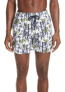 Vilebrequin Bamboo Song Print Swim Trunks