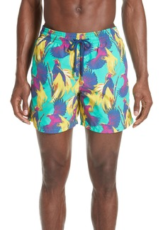 Vilebrequin Birds of Paradise Swim Trunks