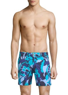 Vilebrequin Camouflage Print Swim Shorts