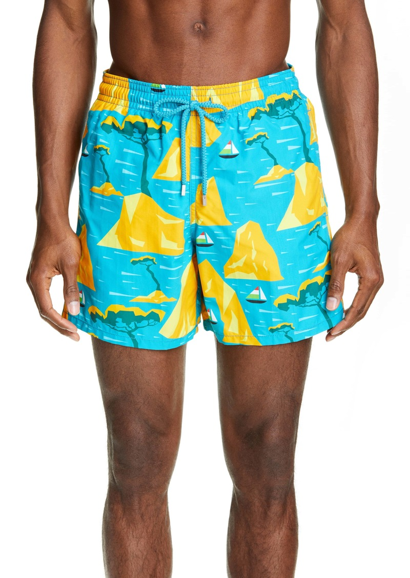 Vilebrequin Capri Swim Trunks