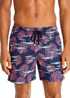 Vilebrequin Coral & Fishes Swim Trunks
