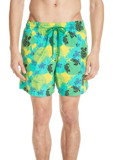 Vilebrequin Eco Turtle Print Swim Trunks