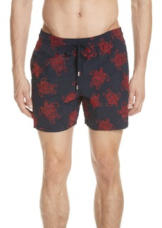 Vilebrequin Embroidered Turtle Swim Trunks
