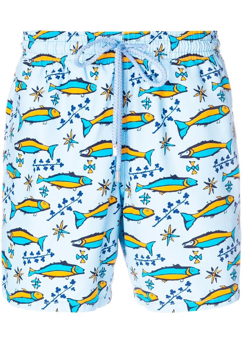 e01fc3a9d7 Vilebrequin Vilebrequin fish print swim shorts - Blue | Swimwear