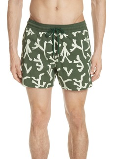 Vilebrequin Glow in the Dark Fire Dance Swim Trunks