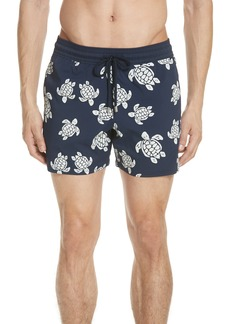 Vilebrequin Glow in the Dark Turtle Swim Trunks