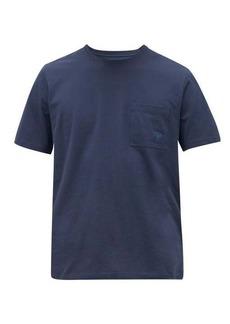 Vilebrequin Logo-embroidered cotton-jersey T-shirt