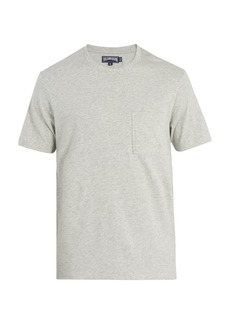 Vilebrequin Logo-embroidered cotton T-shirt