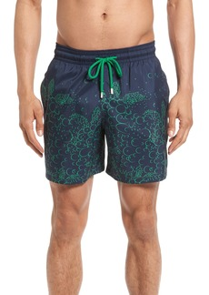 Vilebrequin Mahina Bubble Turtles Print Swim Trunks