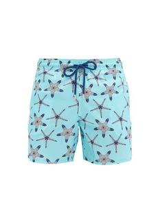 Vilebrequin Mahina starfish-print swim shorts