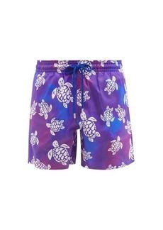 Vilebrequin Mahina turtle-print recycled-fibre swim shorts