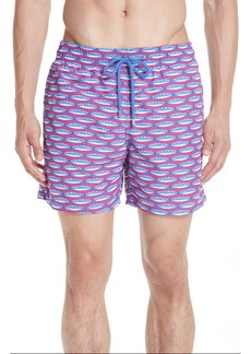 Vilebrequin Marbella Print Swim Trunks