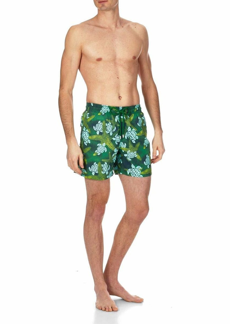 Vilebrequin Men's Moorea STARLETS & Turtles Swim Trunk  L