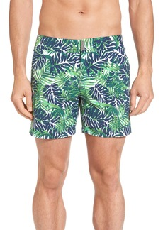 Vilebrequin Merise Madrague Print Swim Trunks