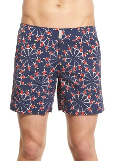Vilebrequin 'Merise Superflex Zelliges' Swim Trunks