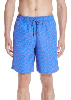 Vilebrequin Micro Ronde Turtle Print Swim Trunks